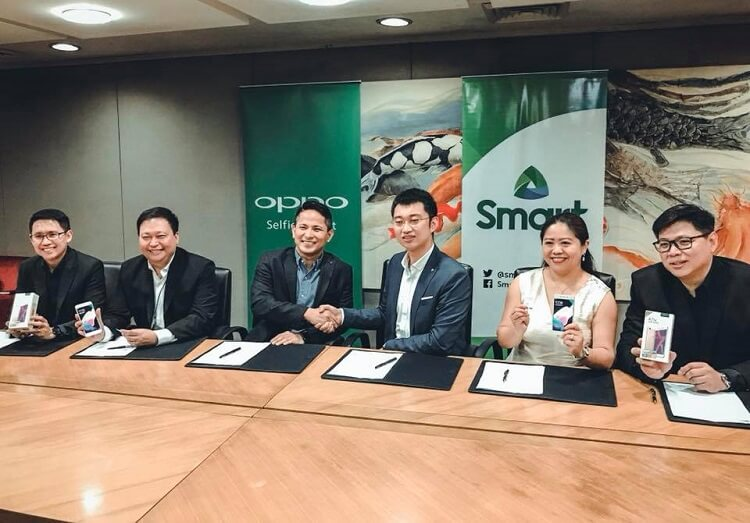 OPPO Philippines and Smart Communications, Inc. MOA Signing
