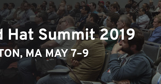 Red Hat Summit 2019 - Submitting all new pitfalls, storytelling, and career planning sessions