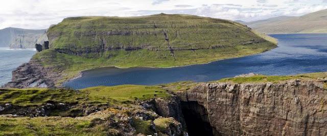 Lago Leitisvatn – Ilhas Faroé