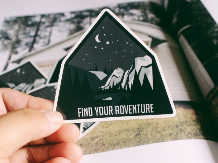 15+ Of The Best Traveler Gift Ideas Besides Actual Plane Tickets - Find Your Adventure Bumper Sticker