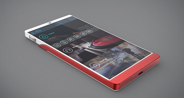 Smartphone with metal body