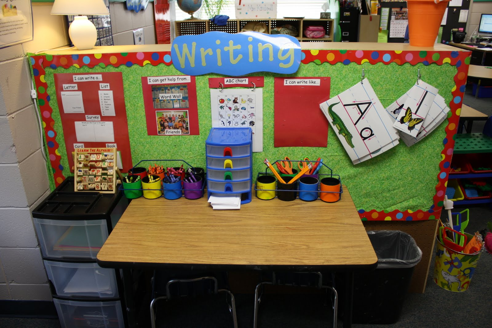 How Do I Write…? Scaffolding Preschoolers' Early Writing Skills