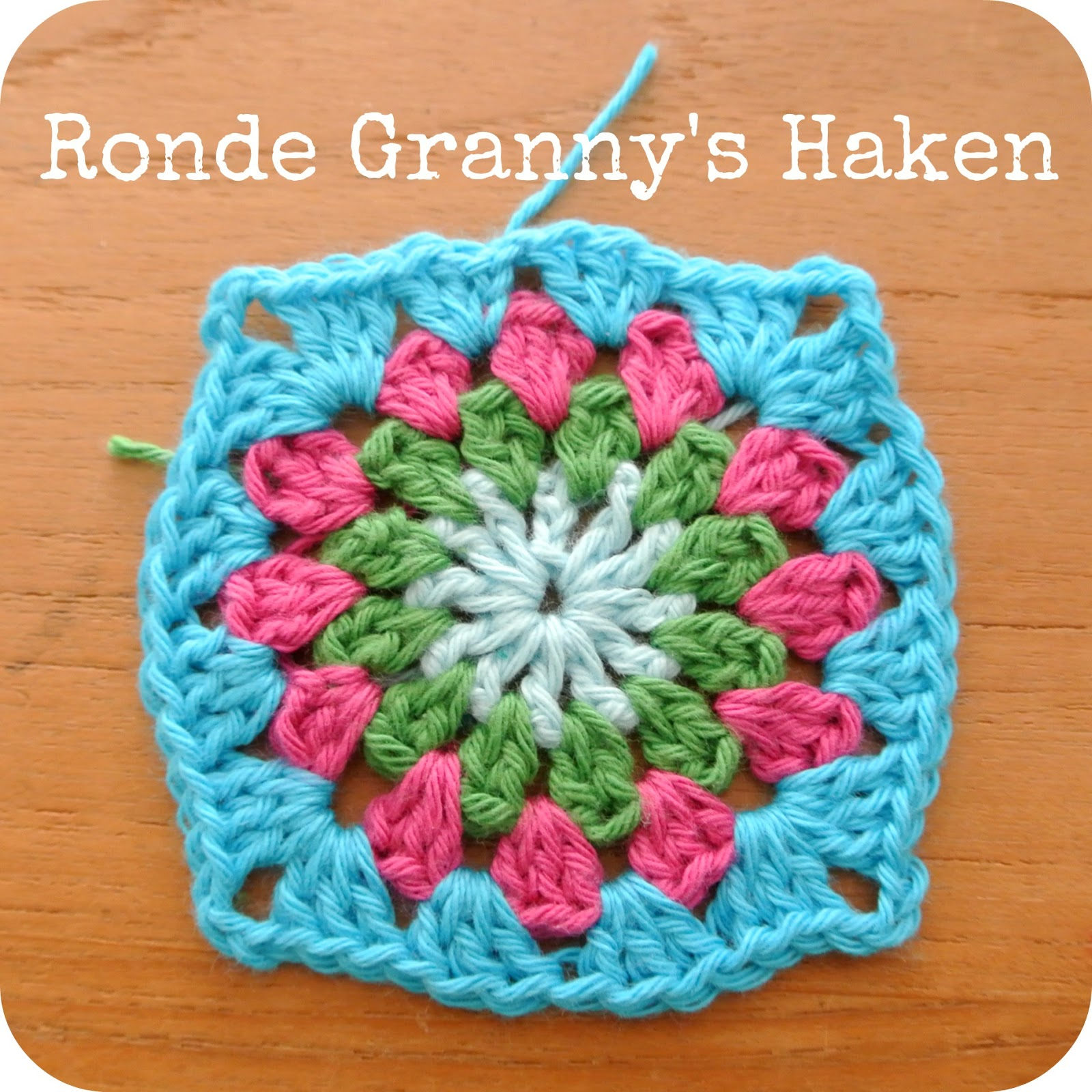 Sew Natural Blog Ronde Grannys Haakpatroon