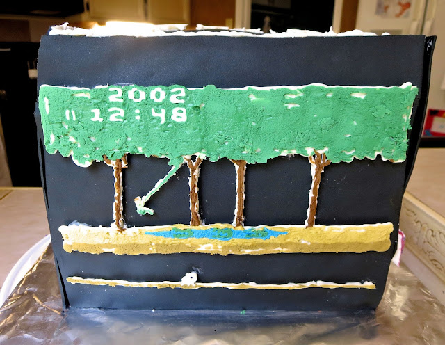 Retro Video Game Cake - Pitfall Side