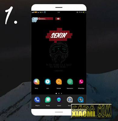 Download template Zooper Widget Pro Widget Tanggal, Hari, Jam dan Google Keren Terbaru For Android