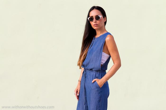 Blogger influencer de moda valenciana con looks para diario con estilo