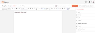 Cara membuat blog di blogspot dengan mudah