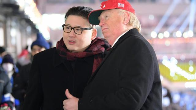 Expulsan a 'Trump' y 'Kim' de la ceremonia inaugural de JJOO
