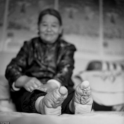 žene u Kini, fotografije