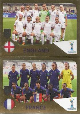 Sticker 449 a//b Panini FIFA365 2019 Guijarro//Guijarro//Maciver Women world cup