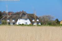 Haus mit Reetdach auf Sylt