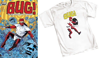 BUG!: The Adventures of Forager T-Shirt by Mike Allred x DC Comics x Graphitti Designs