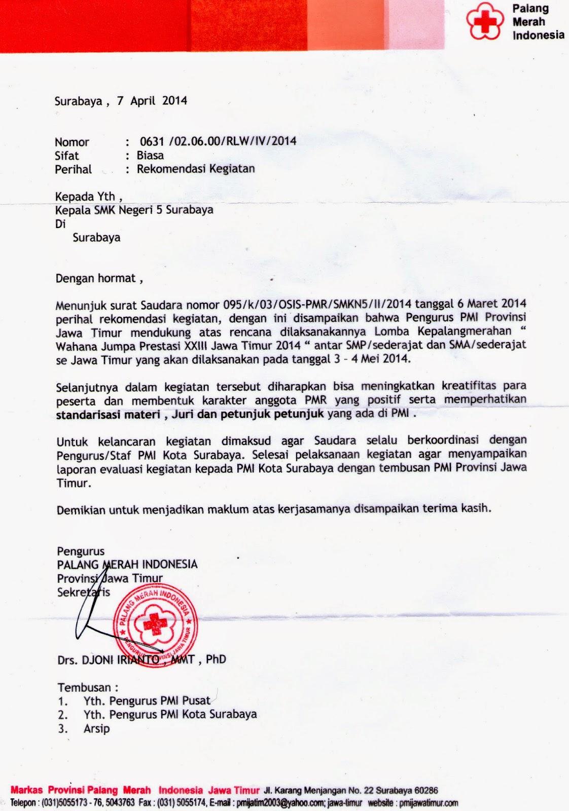 Contoh Surat Undangan Alumni Pmr Suratmenyurat Net