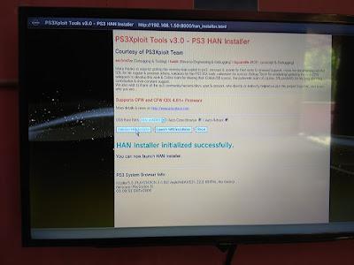 Mengubah PS3 OFW Menjadi PS3 HAN Offline 11