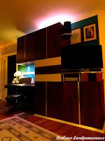 indirekte Beleuchtung: Fernsehwand