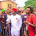 Linus Okorie Takes Up Rehabilitation of Popular Owerri Mad Man (Photos)