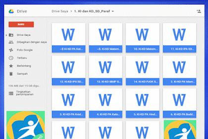 Contoh KI dan KD SD Kurikulum 2013 Revisi Terbaru 2016 Semua Mapel