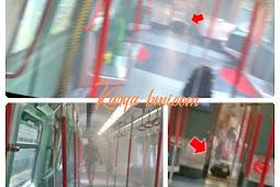 Insiden Menegangkan, Sebuah Koper Mengeluarkan Asap di dalam Kereta MTR jurusan Lok Ma Chau