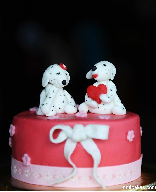 Puppies Cake Toppers