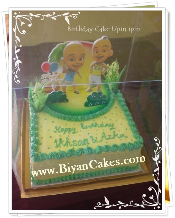 BIyanCakes: Birthday Cake Upin-Ipin