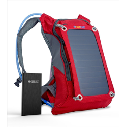 SunLabz® Solar Charger Backpack (7w) INCLUDING 10,000 mAh Power Bank