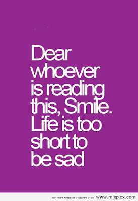 quotes that will make brighten: Dear whoever is reading this, smile?