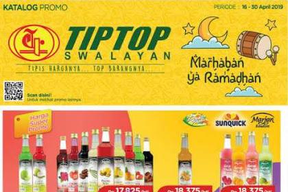 Katalog Promo TipTop Supermarket 16 - 31 Mei 2019