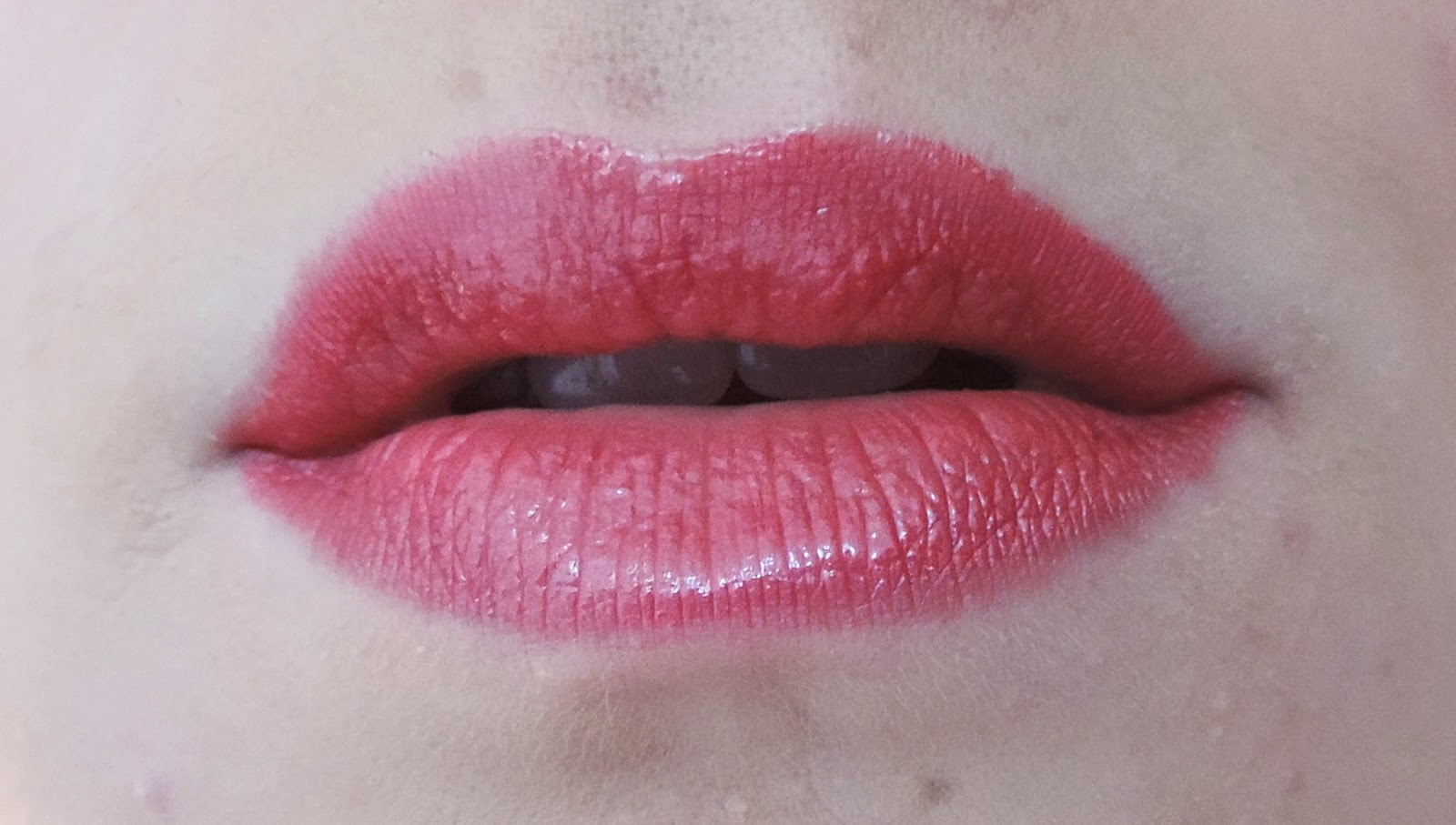 95a1eab9b929 CoverGirl Rose Pearl is a bright pinkish red color. I would say that the  pink is on the cool side. The color is very opaque and since it is from the