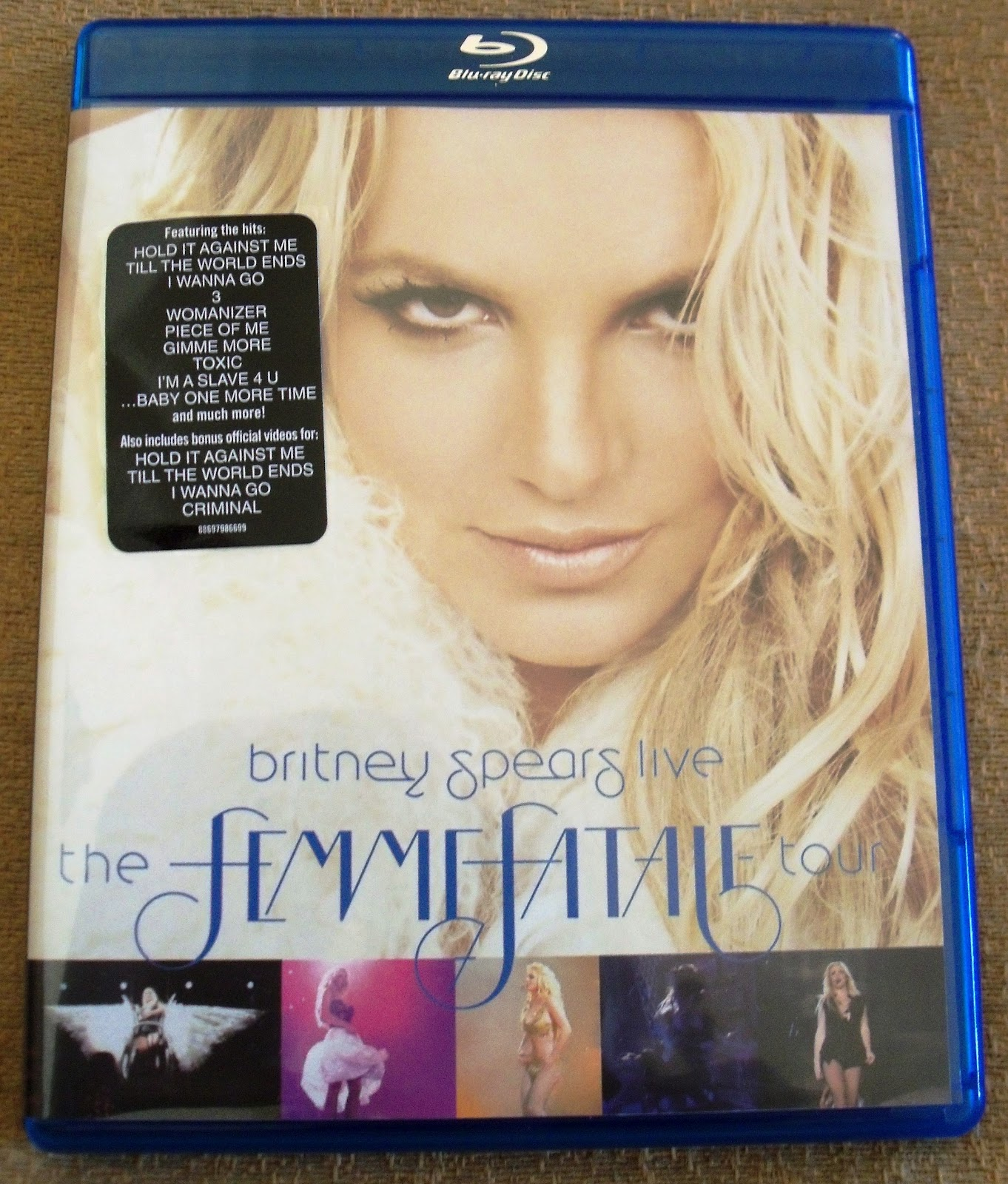 My Britney Collection: Britney Spears Live: The Femme ...