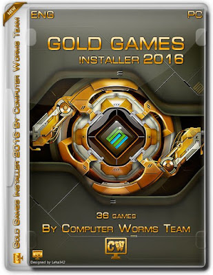 تحميل اسطوانة الالعاب الخفيفة للأجهزة الضعيفة Gold Game AIO | اسطوانة رائعة