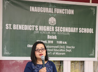 BENEDICT'S HIGHER SECONDARY SCHOOL REIEK