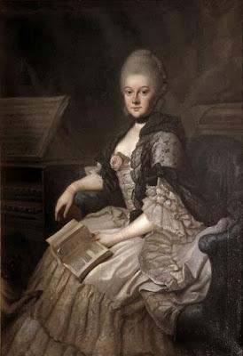 Portrait of Anna Amalie von Sachsen-Weimar-Eisenach after Johann Ernst Heinsius