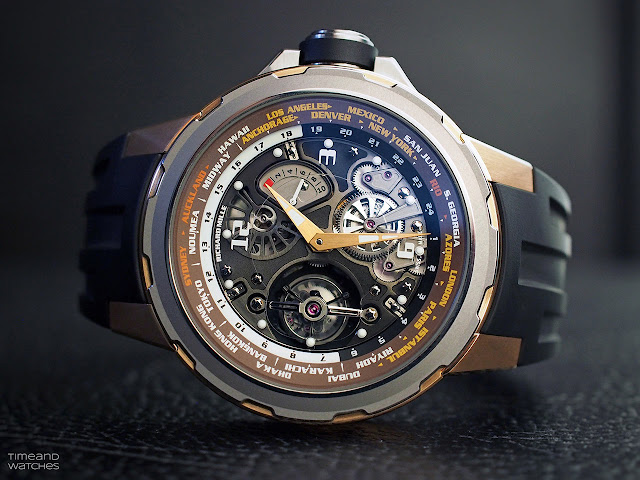 Richard Mille RM 58-01 Tourbillon World Timer Jean Todt Limited Edition
