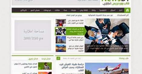 تحميل قالب NEWSBT V1.2 قالب وورد بريس عربى سريع وبلوحة تحكم عربية