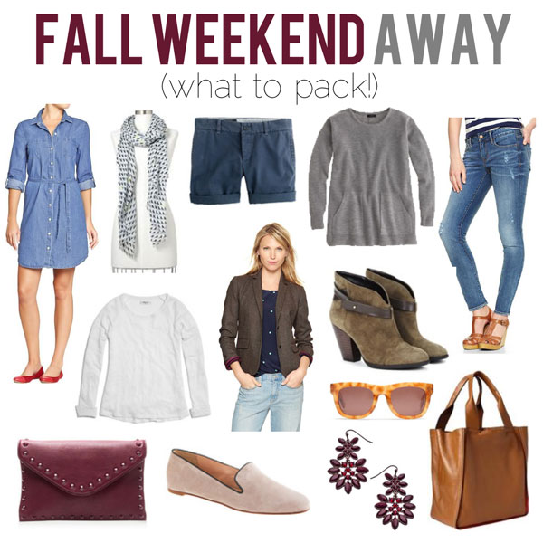 RENE: What to pack for a weekend trip with boyfriend