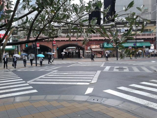 Pasos de cebra. Tokio, no me acuerdo dónde. 2013