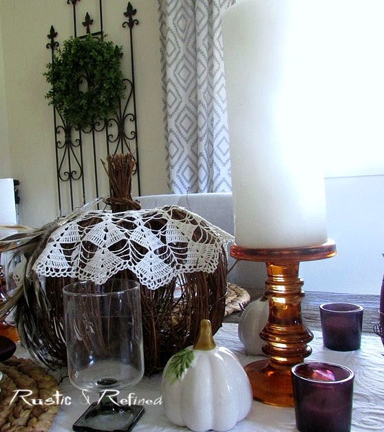 Quick and easy fall table