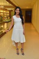 Daksha Nagarkar Cute Beauty in Sleeveless White Dress at Khwaaish Exhibition Launch 2017 ~  Exclusive 075.JPG