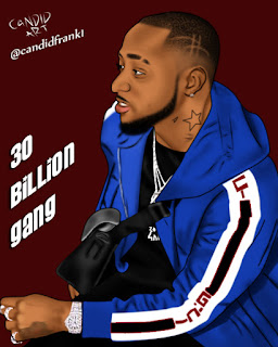 Check out This Davido's Art by Candidfrank Onovo (Candid ARTS And DESIGNS) mp3made.com.ng