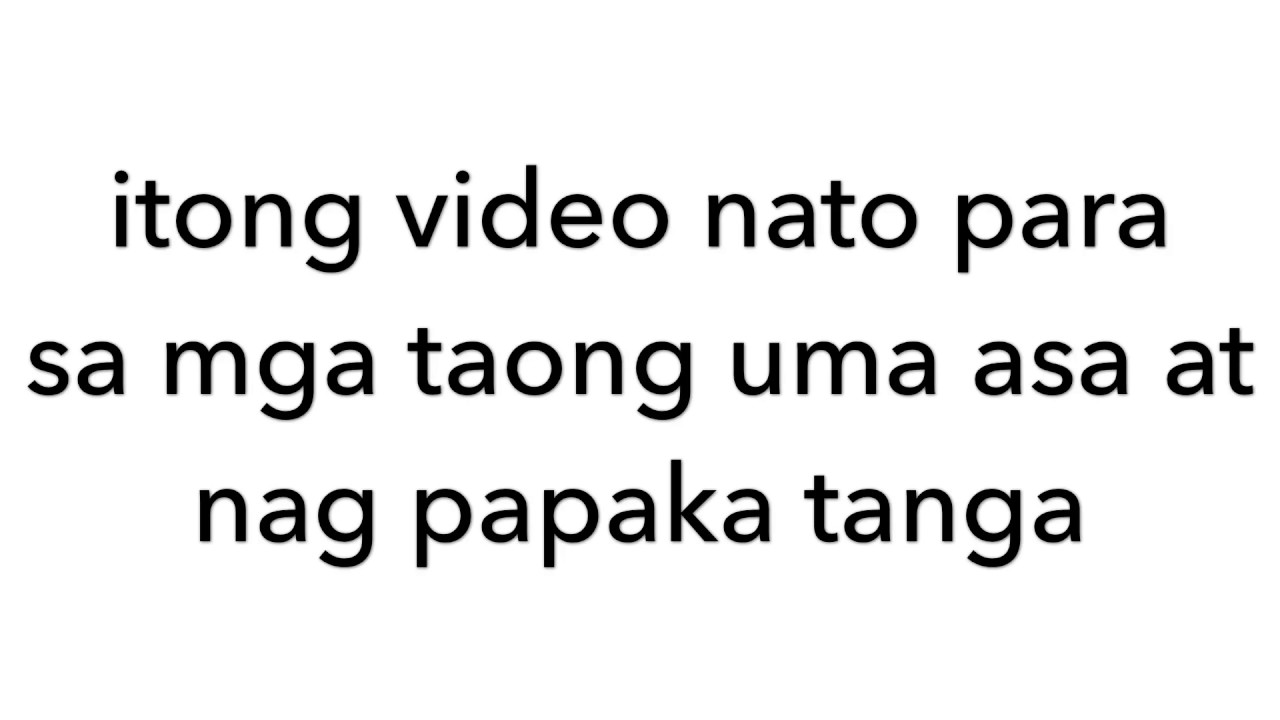 Poetry Spoken Tagalog About Love