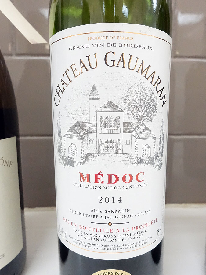 Château Gaumaran 2014 (89 pts)