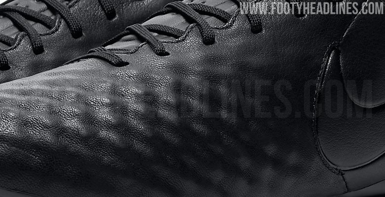 56340fd090 Blackout Nike Magista Opus II Tech Craft K-Leather Boots Released ...