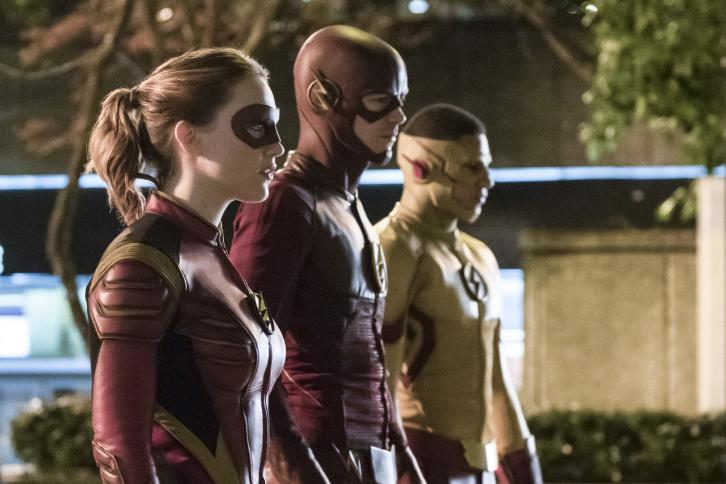 The Flash - Episode 3.14 - Attack on Central City - Promos, Promotional Photos, Poster & Press Release