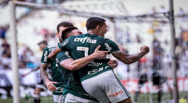 Palmeiras abre 2 a 0, fora de casa, mas cede empate para o Ceará