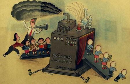 Biếm họa giáo dục Việt Nam
