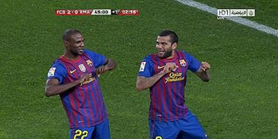 Copa Del Rey : Barcelona 2 vs 2 Real Madrid 25-01-2012