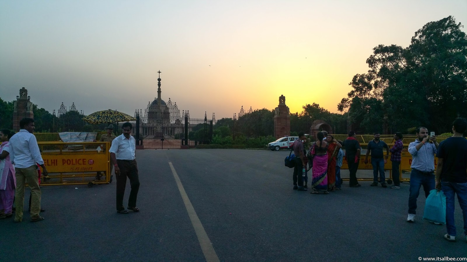 India - places to visit in New Delhi - Presidential Palace