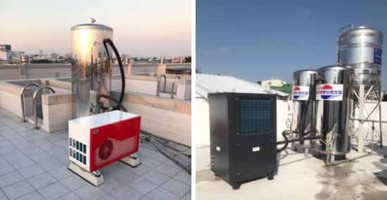 自然風熱泵製熱及省電效果優!