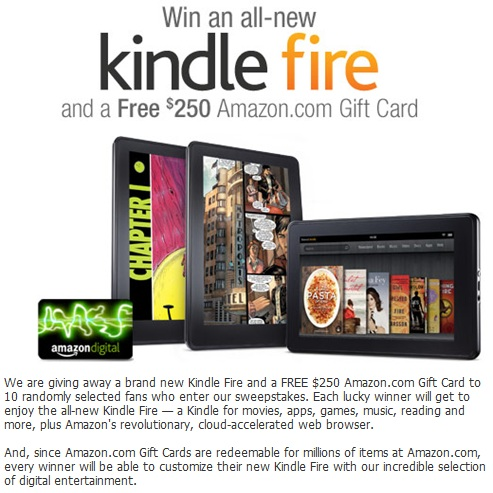 Amazon kindle 10 euros gift cards