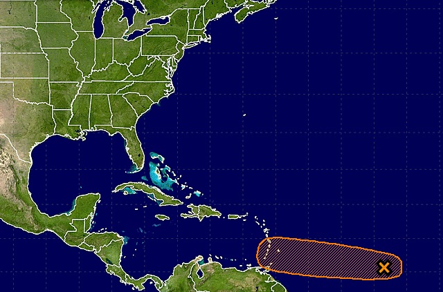 Now Two Tropical Waves Tracking Across the Atlantic